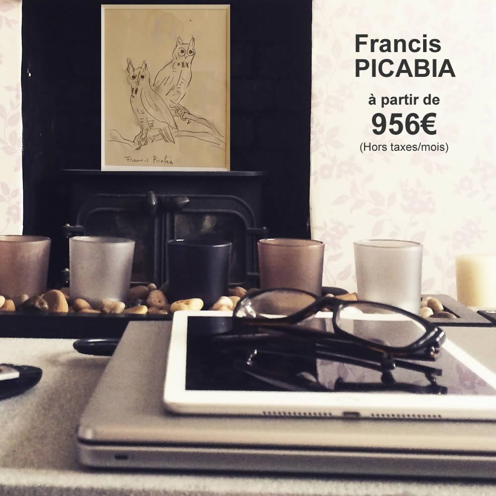 Francis PICABIA 1935 17,5 X 13,7 cm - entier