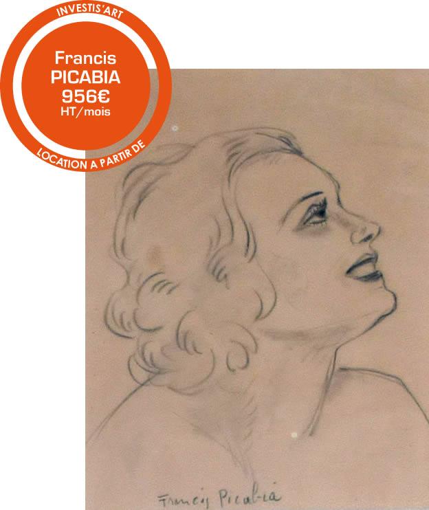 Francis PICABIA 1940 à partir de 956 € ht par mois