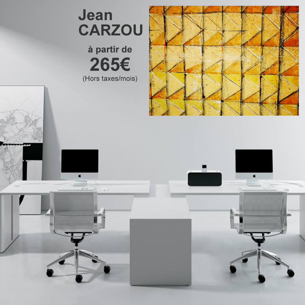 Jean CARZOU 265 € ht par mois