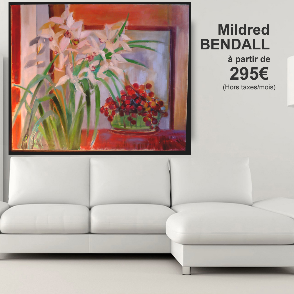Mildred BENDALL 295 € ht par mois