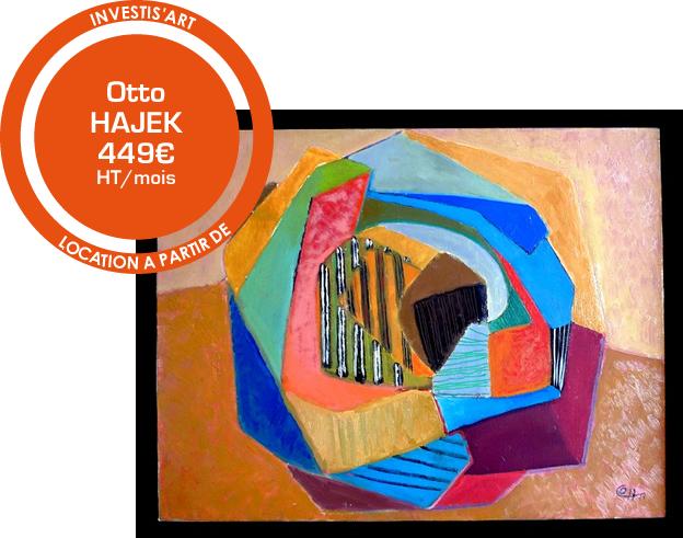Otto HAJEK à partir de 449€ ht par mois